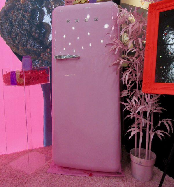 Pink Smeg Refrigerator