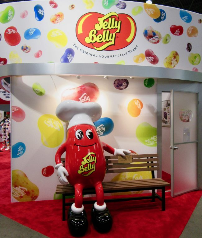 Jelly Belly Booth Mascot
