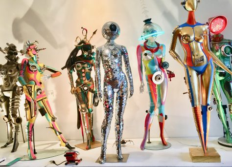 Seven Mannequins