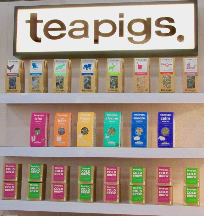 Tea Pigs Display