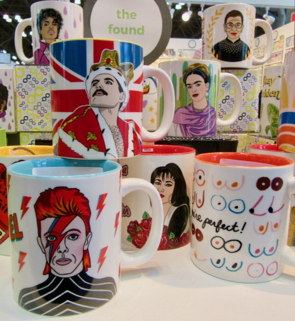 Mugs of Famous People