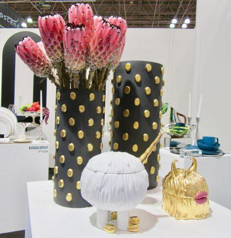 Vase Display With Protea