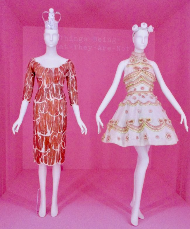 Meat Dress By Jeremy Scott