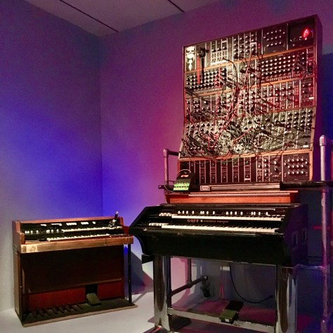 Hammond L-100 Organ with Moog Synthesizer