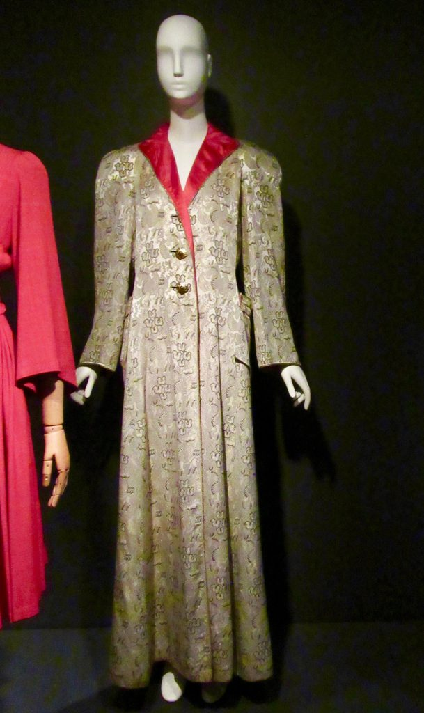 Brocade Evening Coat By Jeanne Lanvin