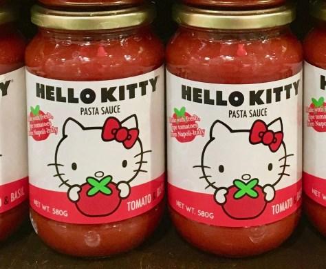 Hello Kitty Pasta Sauce