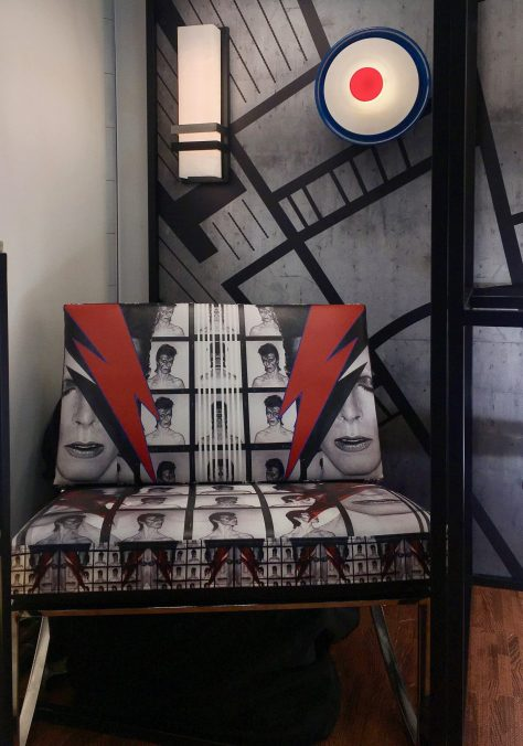 David Bowie Chair Installation View