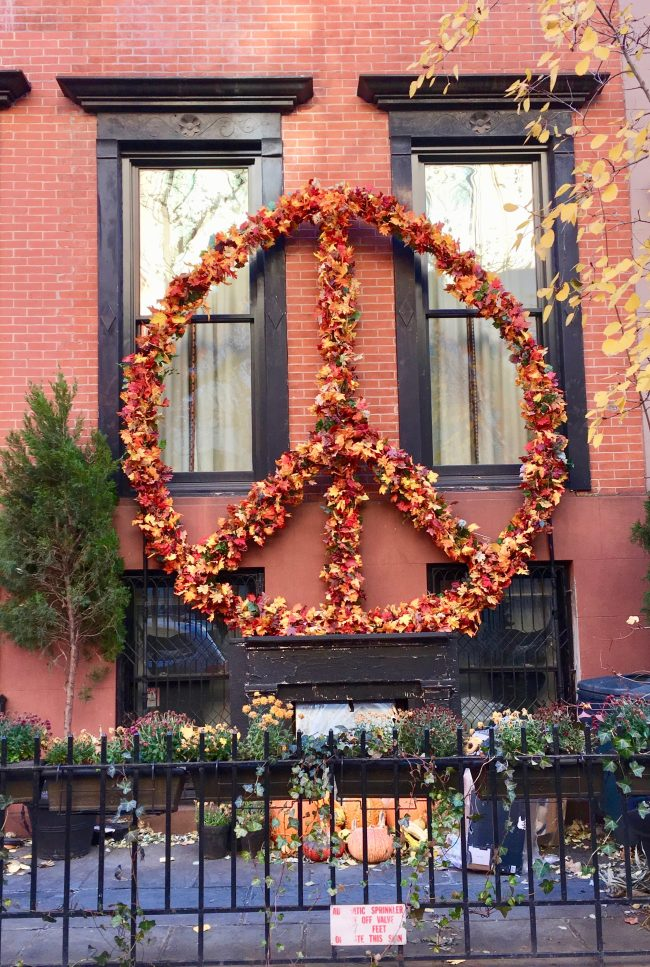 Peace Sign Wreath Full