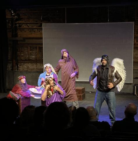 John In Nativity Scene