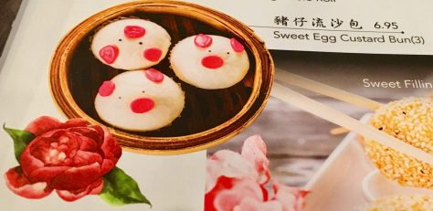 Sweet Egg Custard Bun