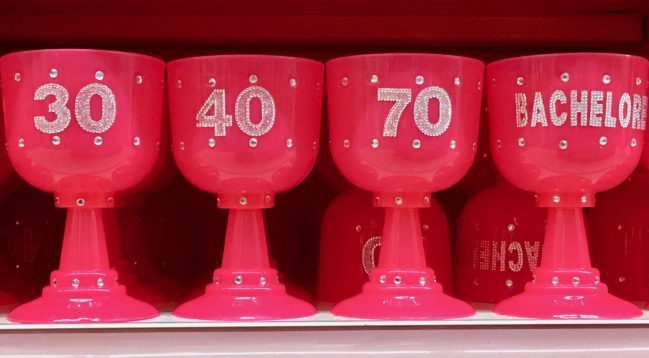 Pink Oversize Goblets By Gail Worley