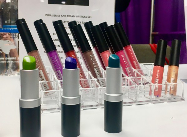 Intermission Lipsticks Display By Gail Worley