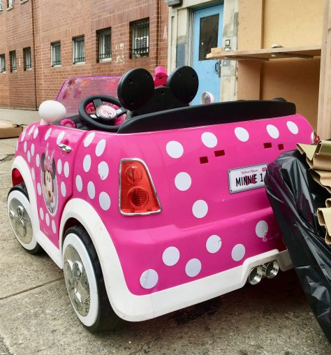 Disney Minnie Mouse Hot Rod Coupe By Gail Worley