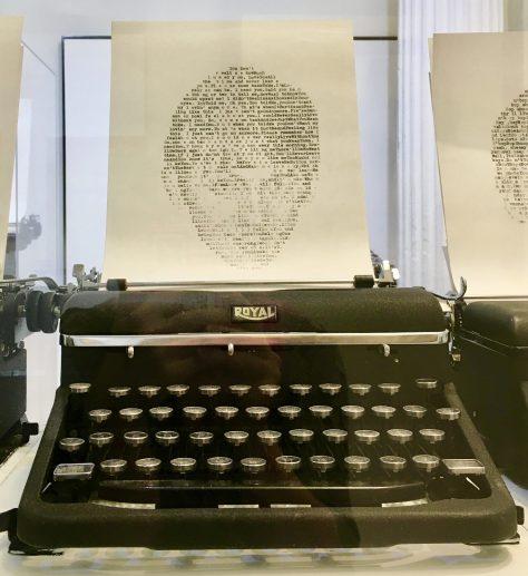 George Harrison Typewriter Photo By Gail