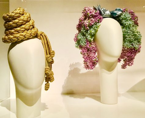 Lilac Headband Installation View By Gail Worley