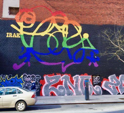 Earsnot of Irak Crew Pride Mural By Gail Worley