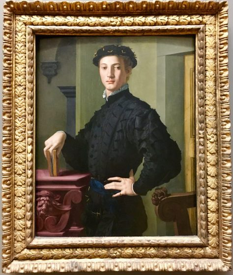 Portrait of a Young Man By Bronzino Photo By Gail Worley