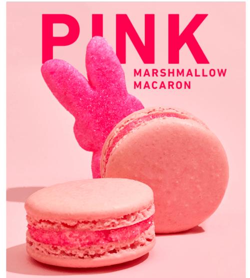 Pink Marshmallow Macaron by Danas Bakery