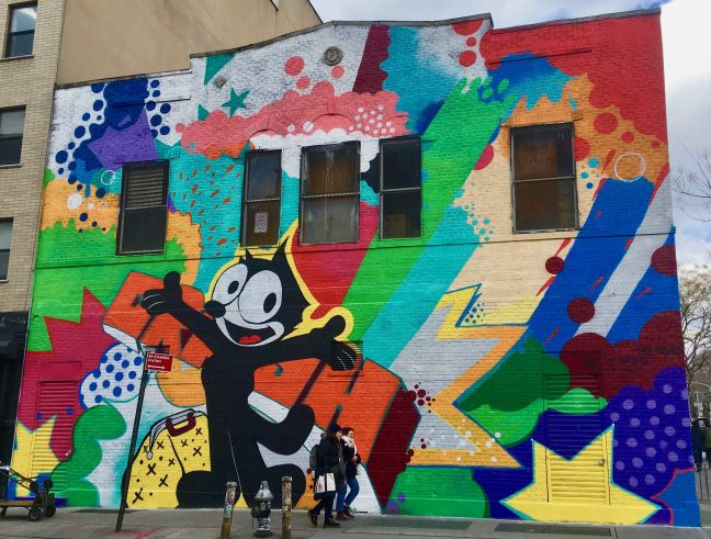 crash and BR163 mural photo by gail worley