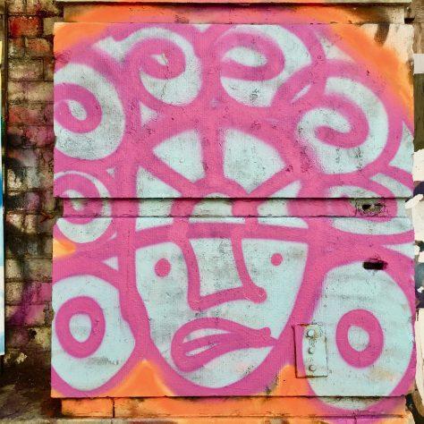mayan warrior head spray art photo by gail worley