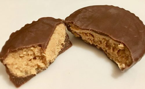choczero milk chocolate peanut butter cup split photo by gail worley