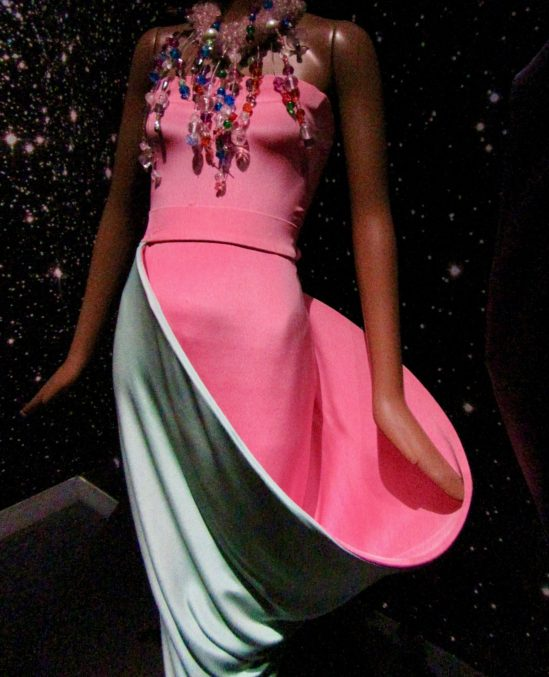 pierre cardin parabolic evening gown photo by gail worley
