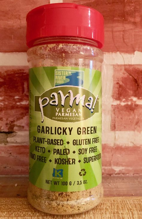 parma garlicky green bottle photo by gail worley