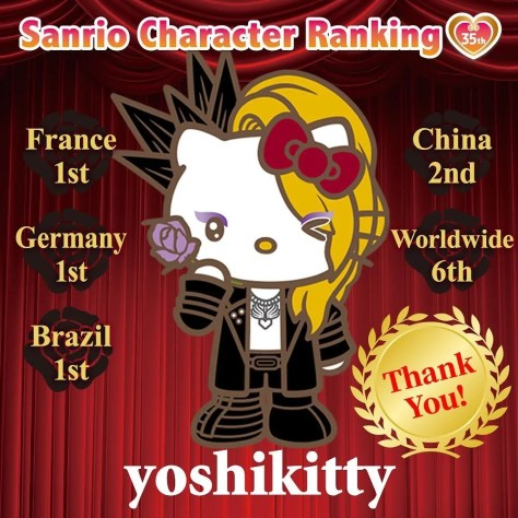 yoshikittty wins awards