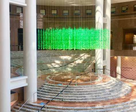 jean shin installation photo by gail worley