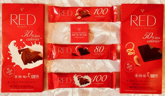 red chocolate cover shot by gail worley