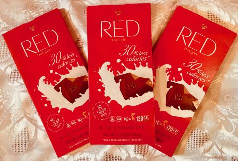 red milk chocolate wrapped photo by gail worley