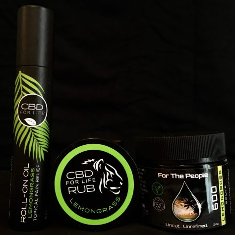 lemongrass cbd products photo by gail worley