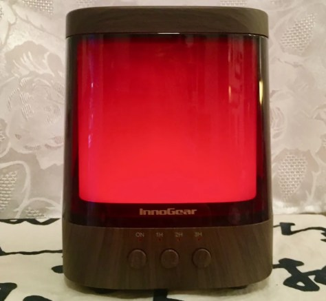 aromatherapy diffuser red photo by gail worley