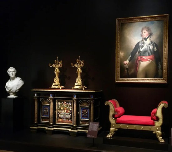 thomas hope red bench installation view photo by gail worley