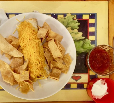 burrito meal photo by gail worley