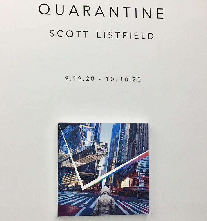 scott listfield quarantine signage photo by gail worley