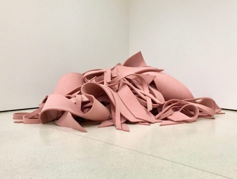 pink felt by robert morris photo by gail worley