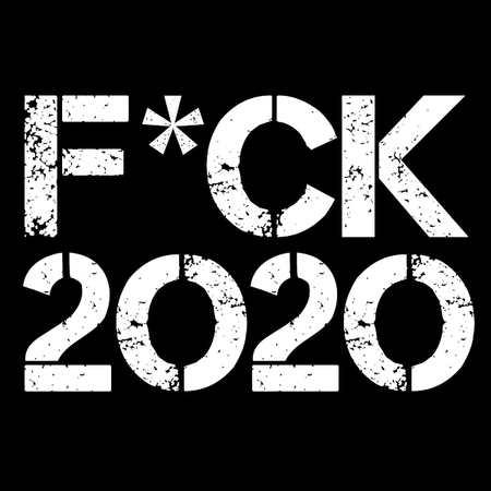 fuck 2020 t shirt detail