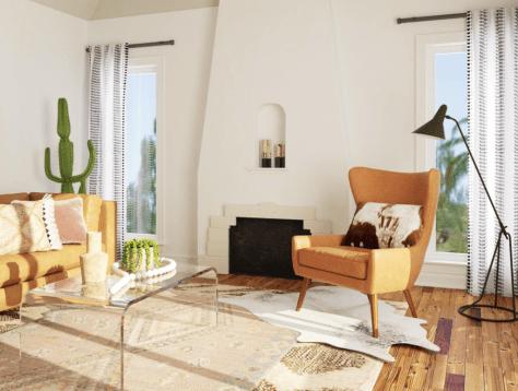 modern sw living room
