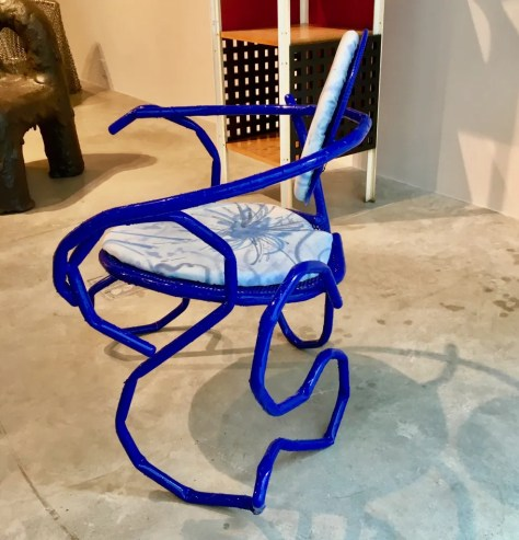 melting thonet chair photo by gail worley