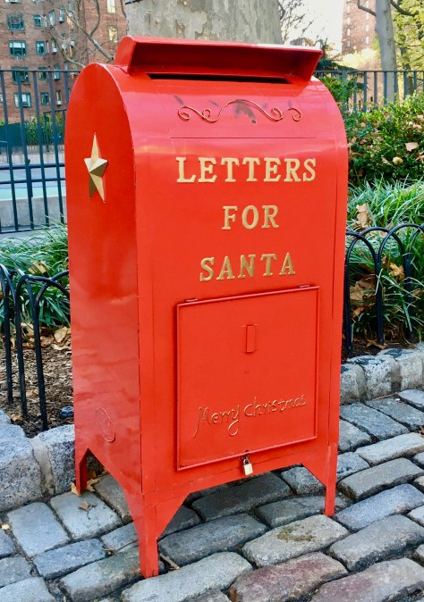 letter to santa mail box photo by gail worley