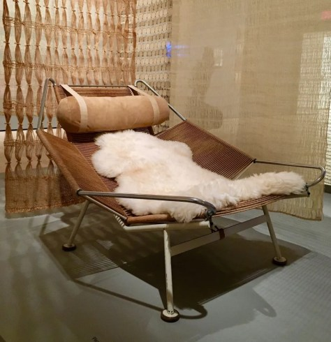 flag halyard armchair by hans wegner photo by gail worley