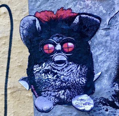 furby by eye sticker photo by gail worley