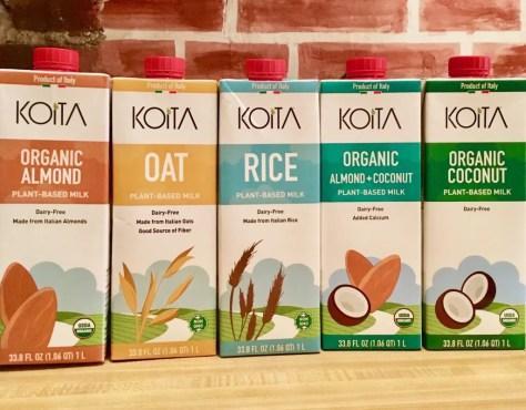 koita organic plant based milks photo by gail worley