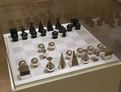 chess set by man ray photo by gail worley
