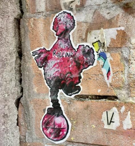 big bird by eye sticker photo by gail worley