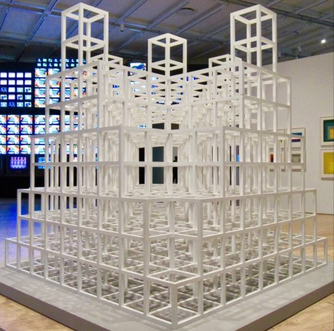 sol lewitt five towers photo by gail worley