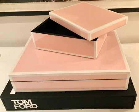 pink lacquer box photo by gail worley