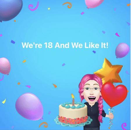 worleygig turns 18