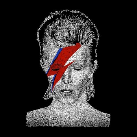 Bowie Face LA Pop